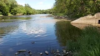 Beautiful long river