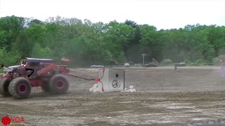 Crazy Monster Truck Freestyle Moments