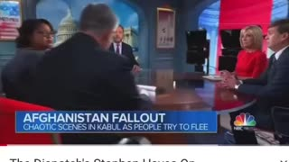 Afghanistan fall out main stream media