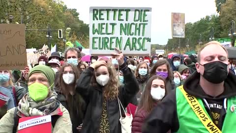 German youth ask new government to fight climate change