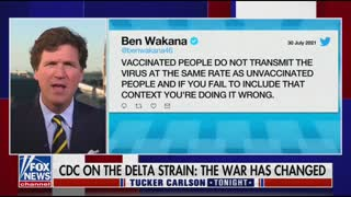 Tucker: Still No Explanation How Unvaccinated Are The Problem