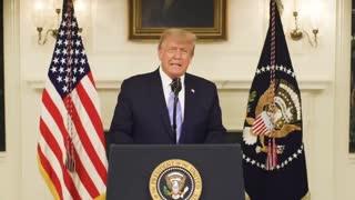 President Trump Message