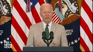 Biden Touts Jobs Report