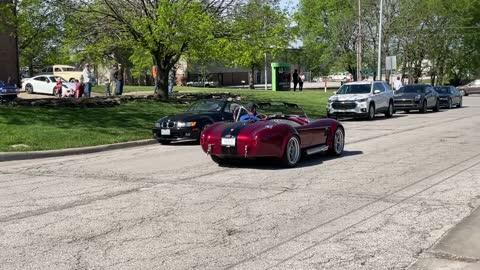 AC Cobra Leaving Event