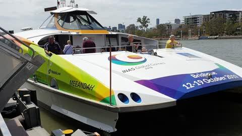 1. Brisbane River Ferry Departure