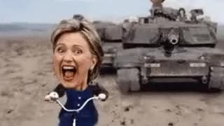 Hillary Clinton, not to smart