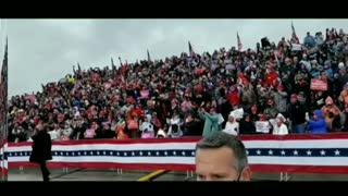Lansing Michigan President Trump MAGA Peaceful Protest 10-27-2020