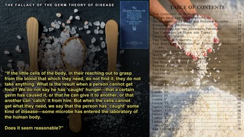 The Fallacy Of The Germ Theory Of Disease