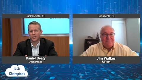 """""""Tech Champions"""" with Jim Walker from UiPath"""