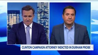 Nunes: Durham brings slam dunk indictment against top Clinton campaign lawyer