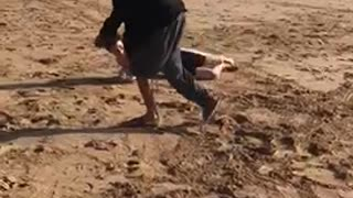 Morocco Beach - Don't try this at home!