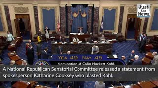 Senate confirms Colin Kahl to Pentagon post in 49-45 vote