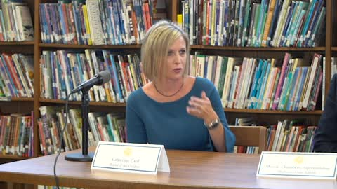 Progress Monitoring Roundtable: Catherine Card a Mother of Two Children