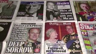 British press mourns death of Prince Philip