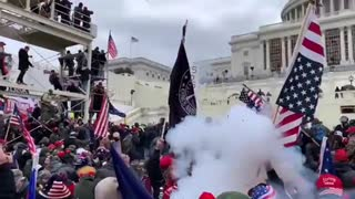 ●CAPITOL POLICE FIRED EXPLODING FLASH GRENADE INTO CROWD  on the Jan. 6 of Men, Women, Children !