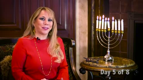 Day 5 of the 8 Lights of Hanukkah Series by Victoria Sarvadi