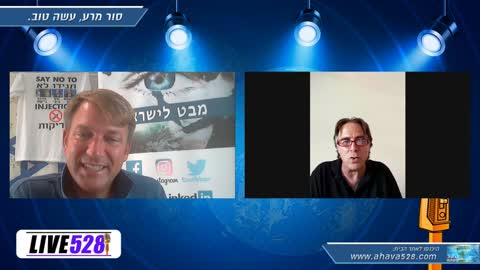 Dr. Feinstein + Michael Genoe (Awaken newsreporter) about the current situation in Israel