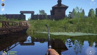 Russian Fishing 4 Old Burg Lake Grass Crap 7.874 Kg