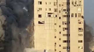 Building hit