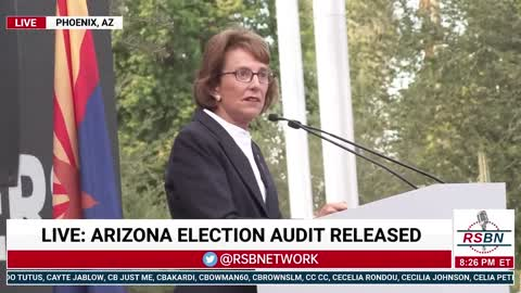 Wendy Rogers Unveils Letter By 41 State Legislators Calling For Audits