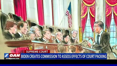 Biden creates commission to assess effects of court packing