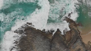 Drone Footage of Ocean