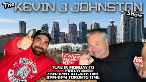The Kevin J. Johnston Show Question and Answer Friday With The Crew