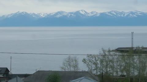 We pass a very good lake Baikal.