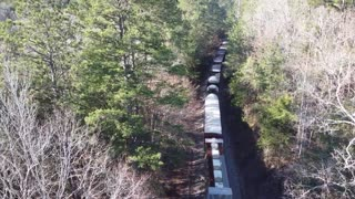 Heavy Train Going South