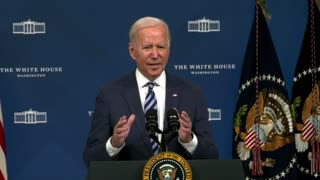 Biden talks about climate change and his Build Back Better plan