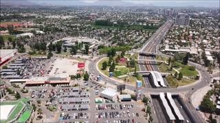 Metro Quilin in Santiago, Chile
