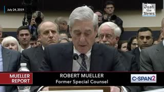 Flashback: Robert Mueller gives his opening statement
