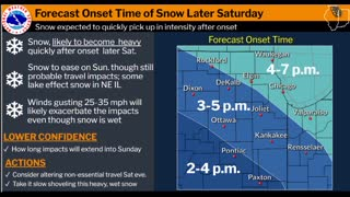 Winter Storm Watch in Effect 01/29/2021