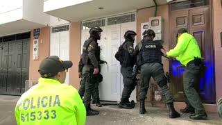 Operativo contra el tráfico de estupefacientes en Floridablanca, dejó 12 personas capturadas