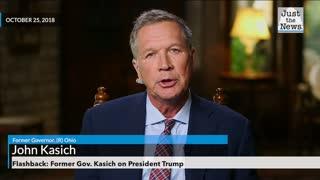 Flashback: Former Gov. Kasich on President Trump
