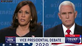 Vice President Pence Debating Kamala Harris and Susan Page