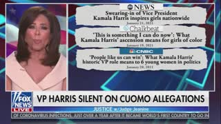 Jeanine Pirro WRECKS Kamala Harris for Staying Silent During Cuomo Accusations