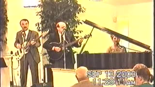 Special Song - Sheltered In The Arms of God, by Robin Willoughby, Sunday AM, 09-13-2003