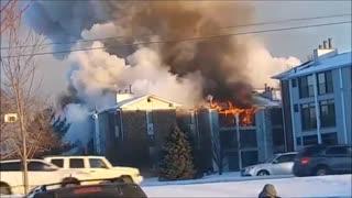 Johnston, Iowa Apartment fire