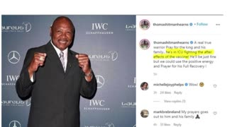 BREAKING: Boxing Great Marvin Hagler Dies After Taking Vaccine.