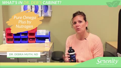 What's In Dr. Deb's Cabinet? Episode #3 | Pure Omega Plus & Myomin