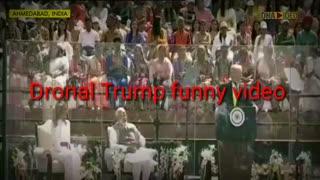 #DonaldTrump Donald Trump & his Hindi | Donald Trump Speech froium