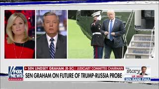 Lindsey Graham reacts to new border statistics
