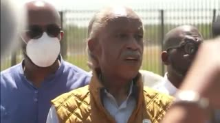 Al Sharpton heckled at the southern Border: at interview defending Haitian immigrants