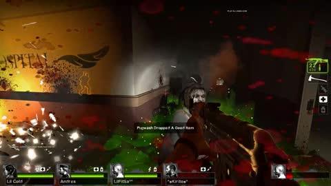Left 4 Dead 2 13v13 No Mercy Full Match #8