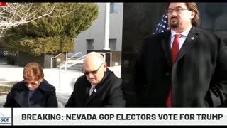 NEVADA GOP ELECTORS CAST VOTES FOR PRESIDENT TRUMP!!