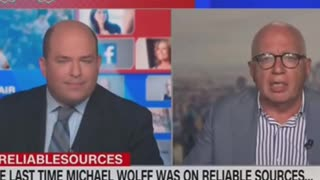 CNN's Brian Stelter Gets wacked !!!
