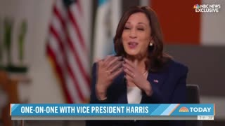 Kamala Harris Laughs and Shrugs When Asked About Visiting Border