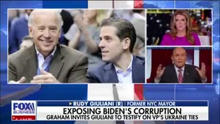 Giuliani goes off on Biden deals- 'It's corrupt as heck'.m