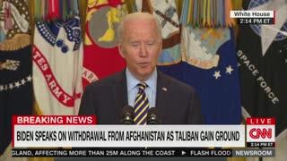 Biden Details Effort To Evacuate Afghan Interpreters
